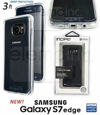 Incipio NGP Puro TRANSPARENTE Flexible carcasa TPU para Samsung Galaxy S7 Edge