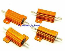 2PCS 8 Ohm 8R 25W 25Watt Power Wire-Wound Aluminum Housing Resistor 5% #3615