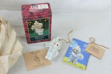 New Precious Moments First Christmas Xmas Ornament 1992 Baby's 527483 Vintage