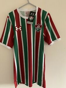 Fluminense Home 2017 Player Issue Football Shirt Under Armour Adult