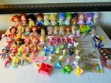 LARGE LOT Vintage STRAWBERRY SHORTCAKE Dolls & Accessories FREE SHIPPING