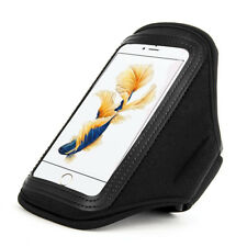 Black Waterproof Neoprene Sports Armband Case Holder for iPhone 11 Pro XS X 8 7
