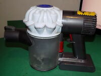 DYSON Vacuum Cleaner Main Body Handheld Motor part +Battery White SPARES REPAIRS