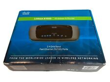 Linksys E1000 300 Mbps 4-Port 10/100 Wireless N WiFi Router - Great Condition