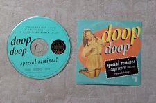 """CD AUDIO MUSIQUE/ DOOP """"DOOP SPECIAL REMIXES"""" 3T CD SINGLE 1993 CARDBOARD SLEEVE"""