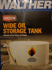 Walthers HO #933-3167 Oil Storage Tank (Wide Style) Plastic Kit