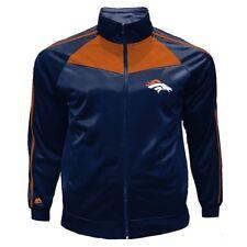 de7bd614a Men s Big   Tall Majestic NFL Denver Broncos Full Zip Tricot Track Jacket  ...
