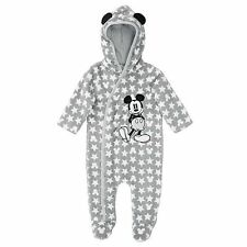 NWT Disney Baby Licensed Boys Mickey Mouse Romper Coverall Size 00 0 1 2