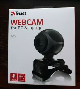 Trust Exis Webcam 17003 - PC & Laptop - Built-In Microphone - New & Sealed