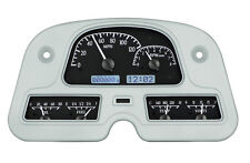 Dakota Digital 62-84 Toyota FJ40 Analog Gauge Dash System Black White VHX-62T-FJ