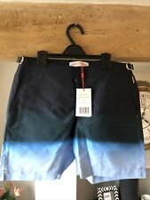 "New listing Orlebar Brown Men's Swim Shorts ""Bulldog""Degrade Navy/Green Blue size UK30"" BNWT"