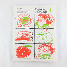 Explode the Code Book 1 By Nancy Hall Homeschool Curriculum Phonics Home School