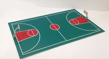 Outland Models Train Railway Layout Basketball Court HO Scale 1:87