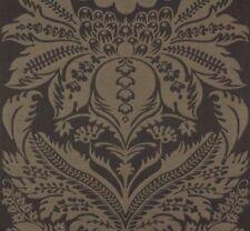 Rasch Tapete Vlies Florentine Gestreift creme schwarz 448764 2,61€//1qm
