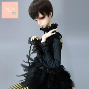 Boy Douglas Recast Dc SD Bjd Doll 1/4 Model Swan Black K-Body
