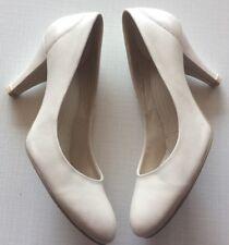 "Faith Uk 4 Eu 37 Cream Courts Pumps  Shoes Heels 3.1"" Weddings Events"