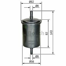 GENUINE OE BOSCH FUEL FILTER F2161- HAS VARIOUS COMPATIBILITIES