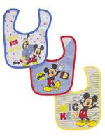 """Disney Mickey Mouse """"Hide-and-Seek"""" 3-Pack Bibs"""