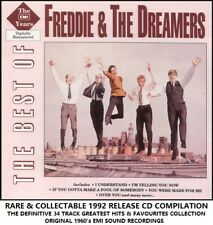 Freddie & The Dreamers - Best Essential Greatest Hits Collection - RARE 60's CD
