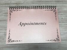 Appointment Book Diary A5 3 column mobile spa massage hair beauty nails office 7