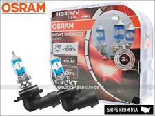 NEW! HB4 9006 OSRAM Night Breaker LASER (NBL) Halogen Headlight Bulbs 9006NL