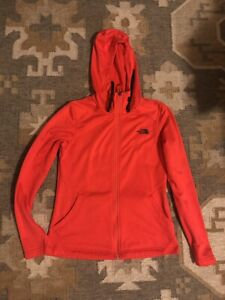 The North Face Women's Hoodie Size Small Red/orange