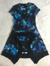 Just Cavalli Flap Front Blue Dress Size M RRP £425
