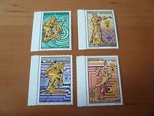 Madagaskar Olympia 1994 Lillehammer Mi 1696 aA - 1699 aA  postfrisch