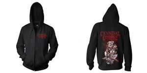 Cannibal Corpse 'Stabhead 1' Zip Hoodie - NEW