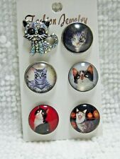 Fit Ginger Noosa  Lot Of 3   S 1570 Dairy Farm Cow Bull Snap Button Charm 20mm