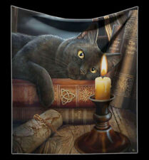 Blanket Witches Cat - Witching Hour by Lisa Parker - Fantasy Soft Cover