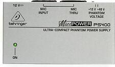 New Behringer Phantom Power Supply PS400 Buy it Now! Make Offer Auth Dealer!