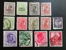 Romania Lot of 13 Uh Stamps from Quality Album- Lot #2