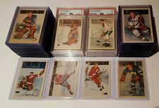1953-54 Parkhurst 100/100 Very Nice Set w/graded cards EX-EX+