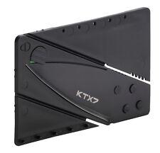 5x KTX7 Kreditkartenmesser Messer Klappmesser Taschenmesser Camping Kreditkarten