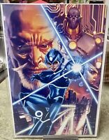 MEGA MAN FULLY CHARGED #1 ~ Mico Suayan VIRGIN VARIANT Cover *NM*