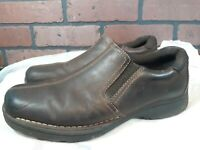 MENS EASTLAND BROWN LEATHER LOAFERS Slip On SHOES SIZE 10.5 M
