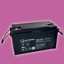 Blei AGM Akku 12V 128Ah Batterie für Camping Caravan Wohnmobil Wohnwagen Solar