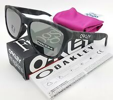 NEW Oakley Frogskins sunglasses Black Camo Prizm BLK Asian 9245-6554 AUTHENTIC