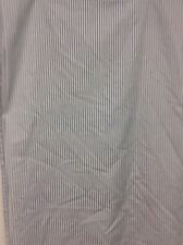 WAMSUTTA sheet FULL blue white stripe FLAT nautical country NICE! #2