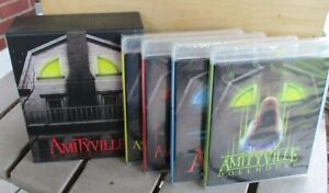 Amityville Cursed Collection NEW Sealed 4 Blu Ray w/ Collector's Box OOP