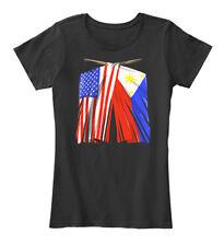 Philippines Flag Filipino Women's Premium Tee T-Shirt