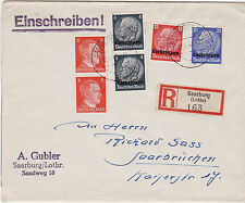 Saar German & Colonies Cover Stamps