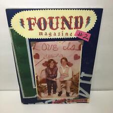 Found Magazine #2 Found by Davy Rothbart