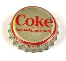 Coca-Cola Coke Tapa de Botella USA Soda Bottle Cap Sello Corcho - Coca Cola Roja