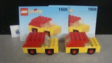 Lego 1606 System Trial Size Imagination Basic Car Set of 2 Used Loose