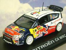 NOREV 1/43 CITROEN C4 WRC #1 WINNER RALLYE DE CATALUNYA RALLY 2009 LOEB/ELENA
