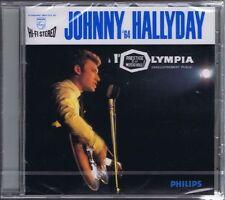 CD NEUF JOHNNY HALLYDAY OLYMPIA 64