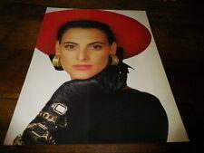 INES DE LA FRESSANGE - Mini poster couleurs 2 !!!
