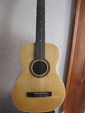 1970's Harmony guitar Model F-70 SOFT+HARD CASE  Made In U.S.A.  USA